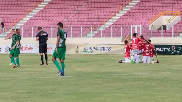 713fdbbc98 Sergipe goleou o Amadense no Batistão.